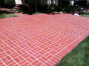 brick patio in louisville co after sealwize treatment