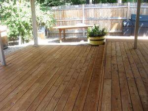 deck in louisville, colorado after sealwize treatment