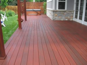wood deck in boulder, colorado after sealwize treatment