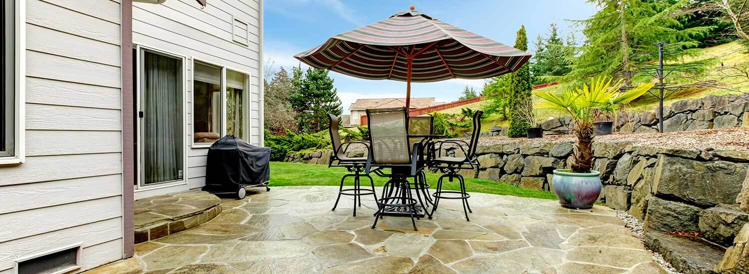 sealwise flagstone patio in Boulder