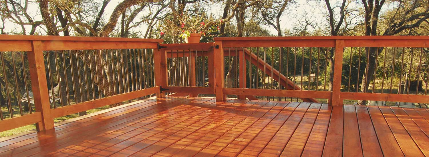 wood deck in louisville co after sealwize application